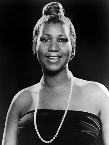 """Aretha Franklin, American musician, singer, songwriter, & pianist. Her repertoire has included gospel, jazz, blues, R&B, pop, rock & funk. She is known as one of the most important popularizers of soul music and is referred to as the Queen of Soul. Rolling Stone magazine ranked her #1 on its """"100 Greatest Singers of All Time"""" list as well as the 9th greatest artist of all time. She has won  20 Grammys & became the 1st female artist to be inducted into the Rock and Roll Hall of Fame."""
