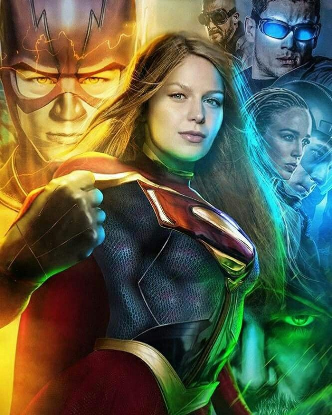 Supergirl joins Arrow, Flash and Legends of Tomorrow on CW!!!