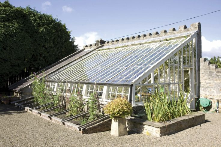 Victorian lean-to greenhouse Ravenstone, Ladycutter Lane, Corbridge, Northumberland http://www.smithsgore.co.uk/assets/x/4034469