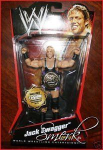 WWE Series 2 Jack Swagger 1/1000 Commemorative Championship Belts Action Figure