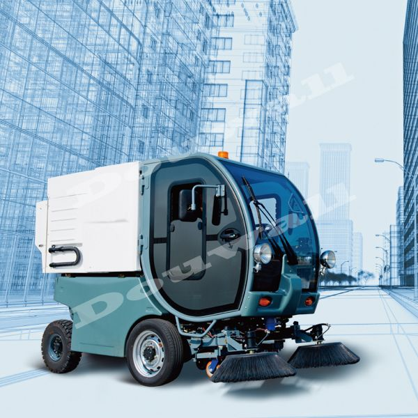 electric street sweeper truck with best price