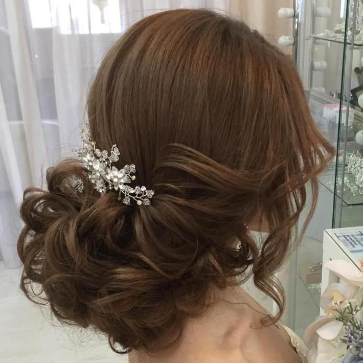 35 Wedding Hairstyles Discover Next Year S Top Trends For: 25+ Beautiful Low Bridal Updo Ideas On Pinterest