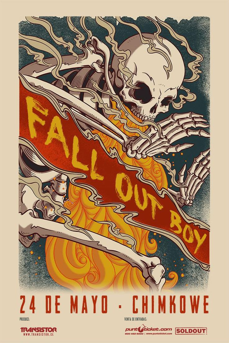 Fall Out Boy - 24 de mayo - Chimkowe