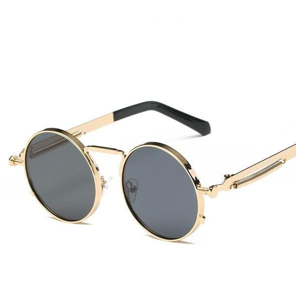 4e2af8c2ae69 Trendy Retro Circle HD sunglasses Italy design