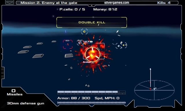 Space Flash Arena Free games online