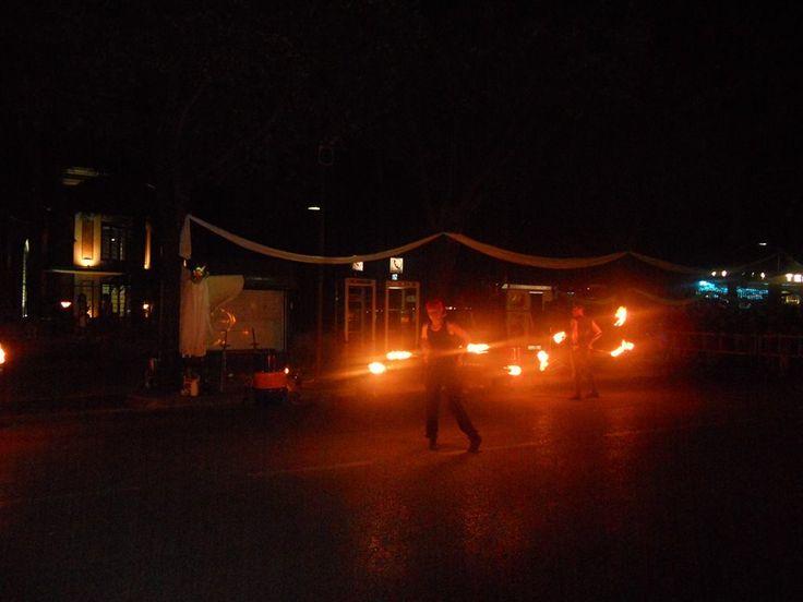 Notte Celeste 2014. Giochi di Fuoco @VialeMarconiCastrocaroTerme #notteceleste