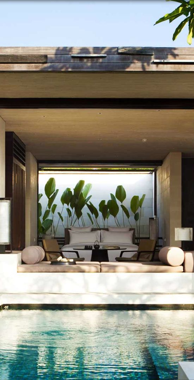 "My Favorite place in the World ""Bali""/  Bali Garden wall at Alila Villas Uluwatu  WOHA Architects"