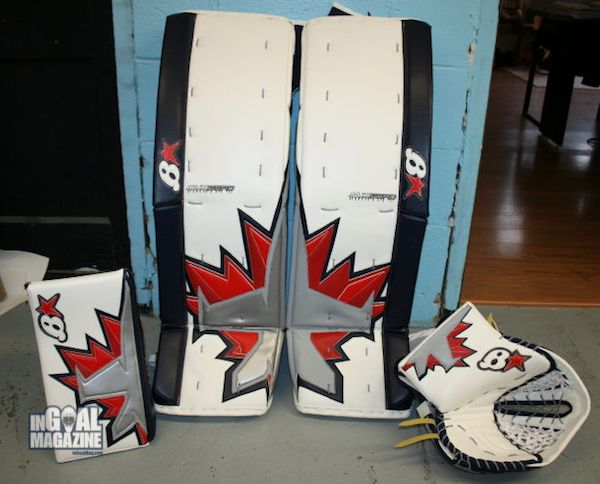 Greatest pad design ever! GO Winnipeg Jets