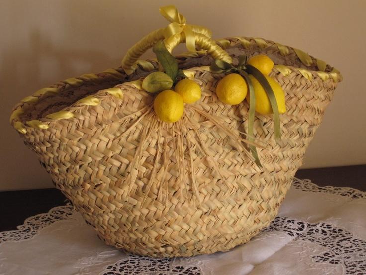 Sicilian bag by Le Curine { more info at http://lecurine.blogspot.it }