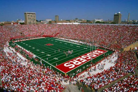 Camp Randall at the University of Wisconsin, Madison (where the Badgers play)