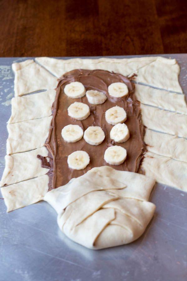 Nutella Braid braided