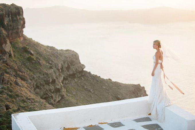 Wedding in Santorini White Ribbon Boutique Events