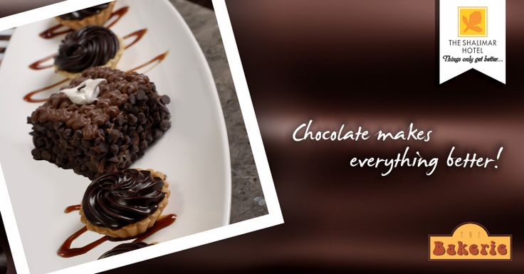 Happiness starts with The Bakerie.. Dig into our chocolicious delights and you'll know what we are talking about.