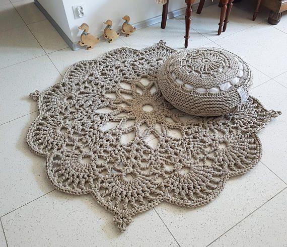Floor Rug Crochet Rug Carpet Floor Mat Rug Carpet Area Rug