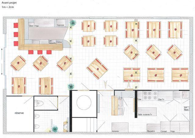 Plan D Amenagement D Une Cuisine De Restaurant Cuisine Restaurant Plan Restaurant Idees De Restaurant