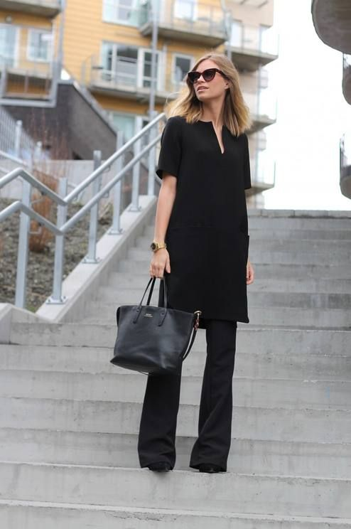 Everything Black Outfit Idea