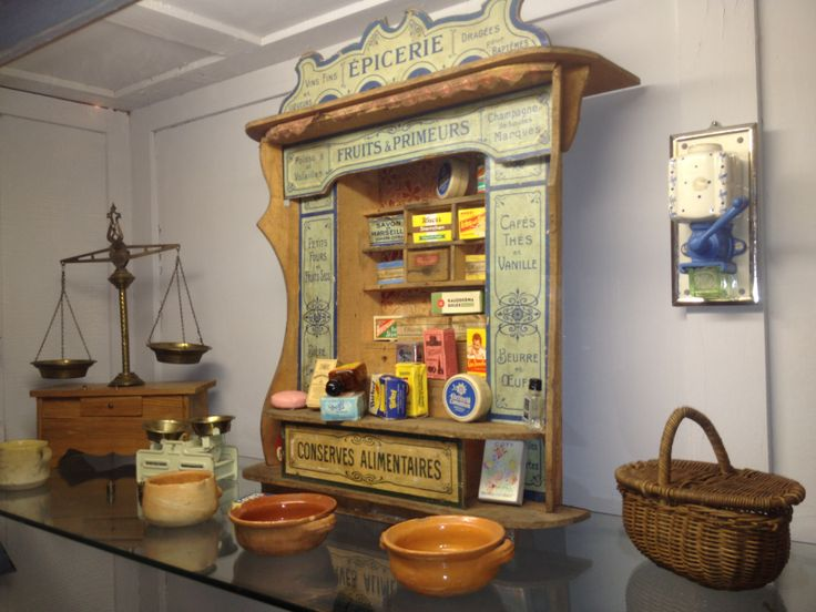 1000 images about epicerie ancienne on pinterest antiques shops and miniature. Black Bedroom Furniture Sets. Home Design Ideas