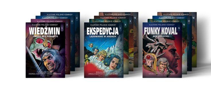 Kultowe polskie komiksy
