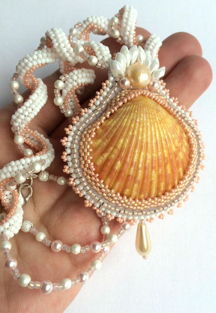 I love shells and this, to me, is just gorgeous!