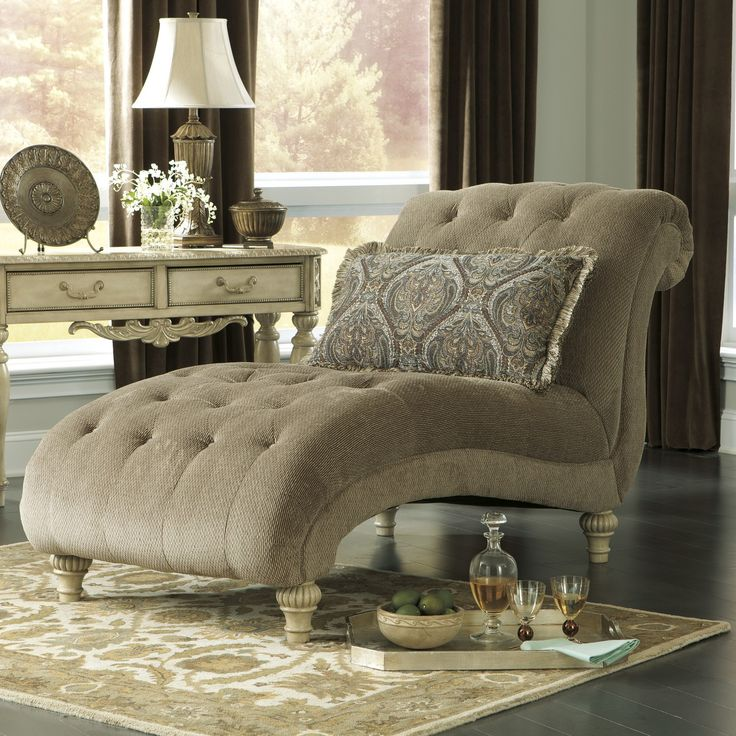 Living Room Chaise Lounges : Charming Image Of Living Room Decoration Using  Tufted Button Cream Velvet Chaise Lounge Chair For Living Room Including  Large ... Part 97