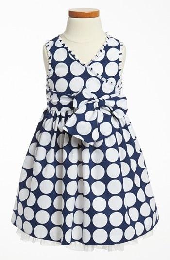Polka Dot Dress (Toddler)