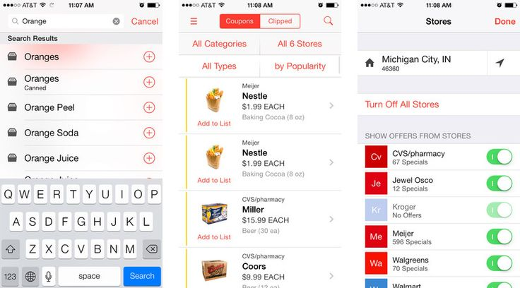 Best shopping and grocery list apps for iPhone: Pushpins