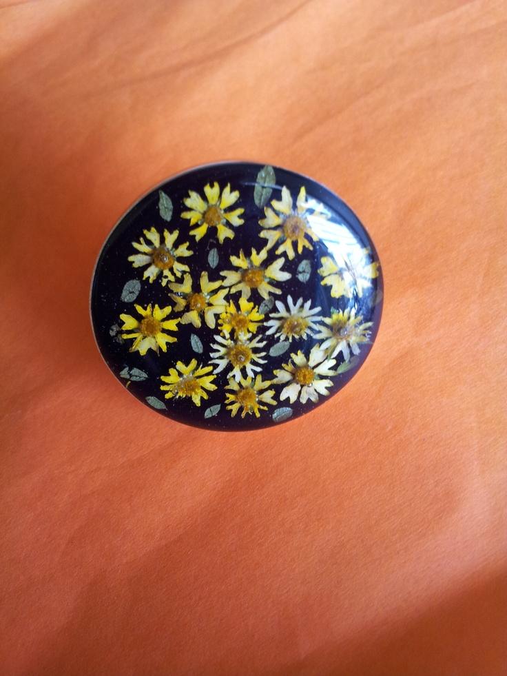 Alpaca Ring, Ring, Sunflowers, flowers, yellow