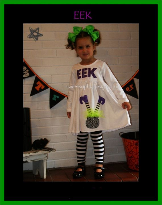 Witch+Halloween+Dress+for+Girl+...+EVERYDAY+by+SweetSophiaDesigns,+$46.99