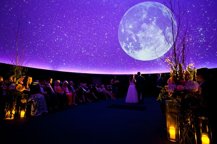 This is freaking amazing! 17_Franklin_Institute_Planetarium_wedding