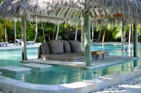 water hammock   water hammock - Picture of Gili Lankanfushi Maldives, Lankanfushi