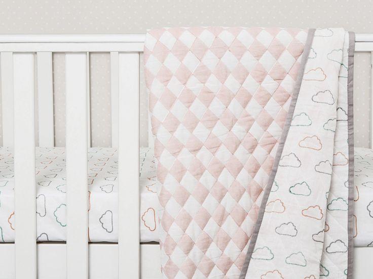 Happy Cloud Organic Cotton Baby Blankets,  Baby Blankets, Organic Baby Blankets, Cloud Baby Blankets, Baby Shower Gift, Baby Gift, Baby Girl Gift