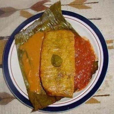 TAMALES YUCATECOS HORNEADOS ~ recetas yucatecas