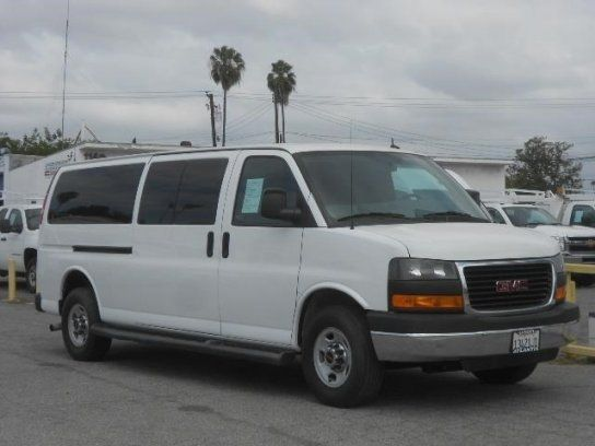 Cars For Sale Used 2013 GMC Savana 3500 In LT Extended Passenger La Puente