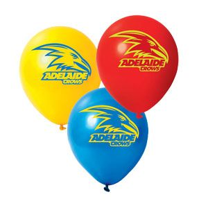 Adelaide Crows AFL Balloons