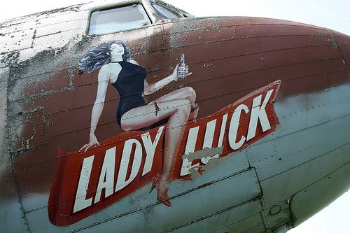 Lady Luck (DC-3) Nose Art