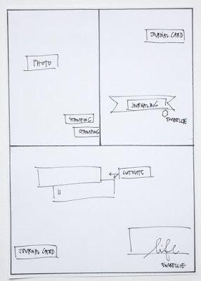 Citrus Twist Kits: Pocket Life Sketch Friday July 8, 2016 with Tara Rice