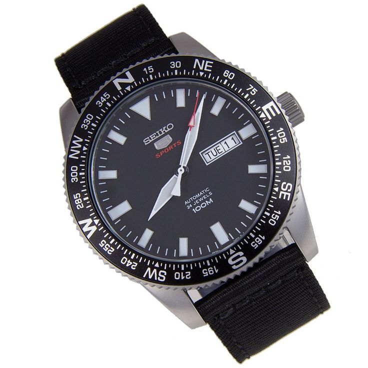 A-Watches.com - Seiko 5 Sports Analog SRP667K1 SRP667K SRP667 Watch, $152.00 (http://www.a-watches.com/seiko-5-sports-srp667k1/)