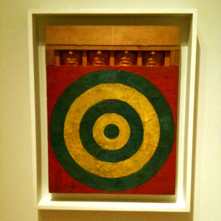 """Target with Four Faces"" by Jasper Johns (1955) - altered ..."