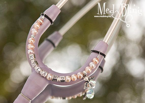 Add some major bling to your stethoscope! #scopebling #fashion #nurse