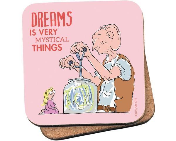 Coaster: Roald Dahl, The BFG (Dreams)