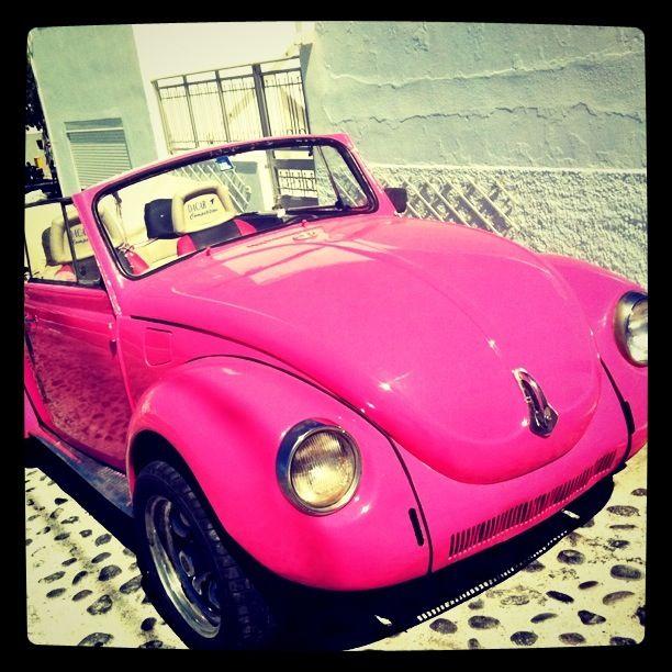 Pink-VW-Beetle