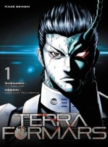 Couverture Terra Formars