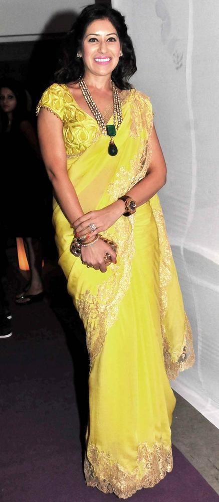 Mihika Manpuri at Rakesh Jhunjhunwala's nephew's sangeet #Fashion #Style #Beauty #Page3