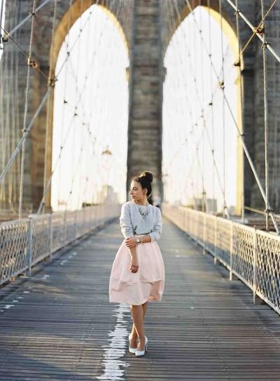 Chic elopement in New York City: http://www.stylemepretty.com/2014/07/15/chic-elopement-in-new-york-city/ | Photography: http://www.aliciaswedenborg.com/