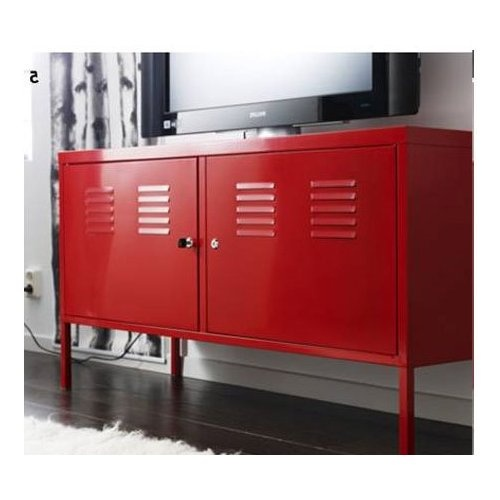 Great IKEA PS Cabinet, Red