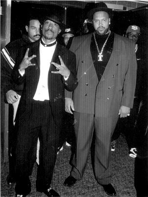 2pac and Suge's fat ass  (LOL sorry I just don't like Suge Knight at all)