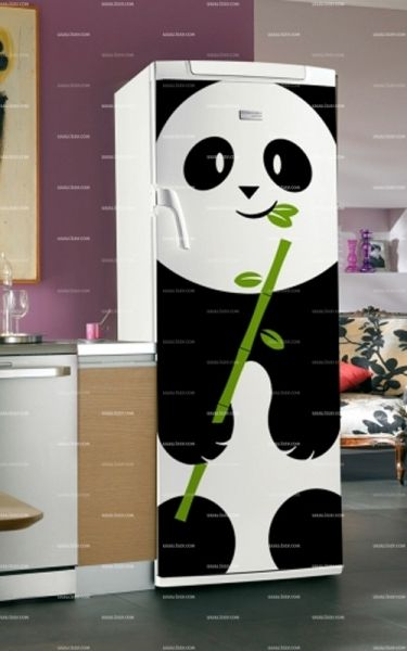 les 25 meilleures id es de la cat gorie stickers frigo sur. Black Bedroom Furniture Sets. Home Design Ideas