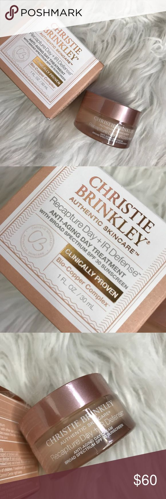 Christie Brinkley skin care Authentic skin care from Christie Brinkley… This is an anti-aging cream with a broad-spectrum SPF… This is great for all skin tones and skin types never used still sealed christie brinkley Makeup Face Primer