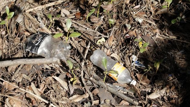 """The amount of beverage litter is appalling:"" Dave West, national policy director of the Boomerang Alliance."