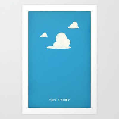 Toy Story Art Print by PANDREAA - $15.00
